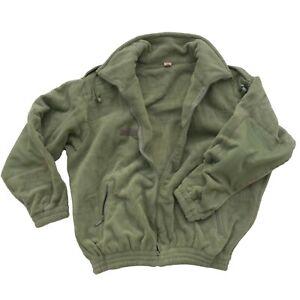 "French Army Mountain Fleece Jacket Extreme Cold Weather XXL XXXL 46"" 48"" 50"""