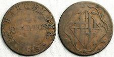 OCUPACION NAPOLEONICA 4 CUARTOS BARCELONA 1813 MUY ESCASA