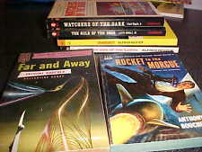 Lloyd Biggle Alfred bester Anthony Boucher 6 pbs Rocket to the Morgue Far & away