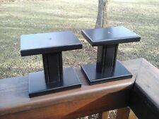(2) SMALL SPEAKER STANDS BLACK
