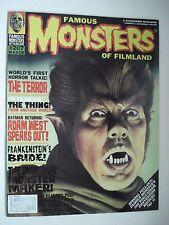 FAMOUS MONSTERS OF FILMLAND BATMAN ADAM WEST  ENGLISH MAGAZINE # 207 1995