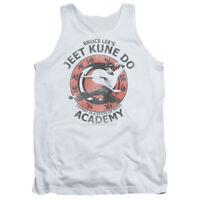 Bruce Lee JEET KUNE DO ACADEMY Vintage Style Licensed Adult Tank Top All Sizes