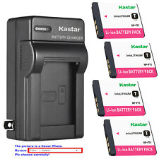 Kastar Battery Wall Charger for Sony NP-FT1 & Sony Cyber-shot DSC-T5/R Camera