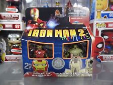 Marvel Minimates Toys R Us Ex. Iron Man 2 Mark VI Iron Man  Ground Assault Drone