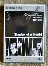 Shadow of a Doubt The Hitchcock Collection VG DVD Regions 2 & 4 Teresa Wright