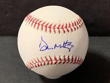 Don Mattingly New York Yankees Autographed Signed MLB Baseball y