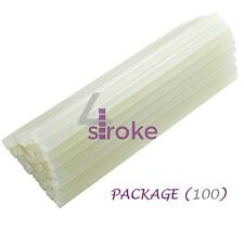 100 x Hot Melt Glue Sticks 7mm x 200mm Extra Long Craft Adhesive General Purpose