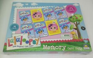 Lalaloopsy Memory Card Match Game - Sew Magical! Sew Cute! - Crown Products NEW