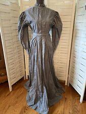 Vintage Pioneer Prairie Colonial Day Cotton Dress