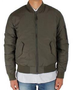 Jacket EDWIN Man Flight Jacket (Uniform Green) SIZE S Value