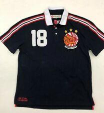 """Iro Ochi Riot Navy Osaka City Japan """"Polo� Style Collar Shirt Mens Medium Nice"""