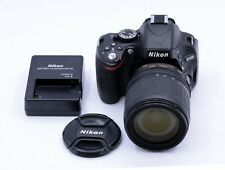 NIKON D5100 16.2 MP CAMERA WITH 18-105mm F/3.5-5.6 G ED VR LENS 10080 CLICKS