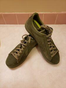 Converse Chuck Taylor All Star Shoes Mens Unisex Green Nubuck Mens 10 Womans 12