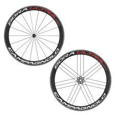 700c Red/white Campagnolo Bora Ultra 50 Wheelset Clincher - Shimano - Road