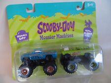 Racing Champions 'Scooby Doo' Monster Trucks/Máquinas. RC Ertl. 1:64. dibujos animados.