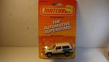 Matchbox #27 White Quadtrak Chief Jeep Cherokee - w/ opened package