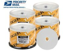 200-Pack Tiger White Inkjet Hub Printable DVD+R DL Dual Double Layer Disc 8.5GB