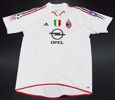 AC Milan 04-05 Kaka Away Shirt Match Detail vs Liverpool Brazil Jersey Maglia