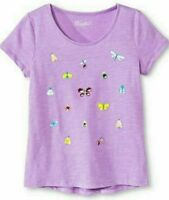 Girls Graphic Tee Purple XL (14/16), New with tags.