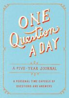 One Question a Day A Five-Year Journal by Aimee Chase 9781250108869 | Brand New