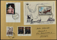 Belgium 1966 Antarctic Expeditions M/S On 1981 Cover #C53402