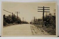 RPPC Near Stoylestown Pa Stretch Looking West From Bald Knob Postcard I1