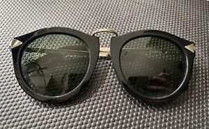Karen Walker Harvest Sunglasses Black