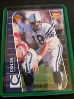Peyton Manning 1999 Collector's Edge Triumph Card # T132 Indianapolis Colts