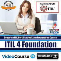 ITIL 4 Foundation Complete Exam Preparation Video Course DOWNLOAD