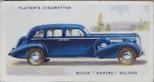 No.10 BUICK 'EMPIRE' SALOON - MOTOR CARS 2nd SERIES - Player 1937