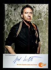 Gerd Silberbauer Soko 5113 Autogrammkarte Original Signiert # BC 121348