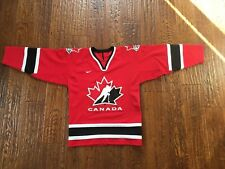 Canada Nike international Team Canada Hockey Jersey Boys L/XL