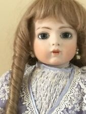 "Antique reproduction Bru Doll 20"" tall"