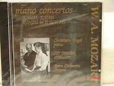 CD W.A. Mozart Piano Concertos K.V. 453, K.V. 491, Rondo in D K.V. 382-Stern 106