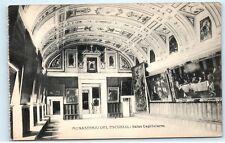 *Monasterio Del Escorial Salas Capitulares Vintage Postcard C59