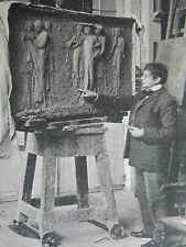 Sculptor Sir George Frampton 32 Queen's Grove St Johns Wood 1902 Photo Article