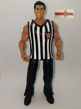 WWE Mattel Elite Custom Vince McMahon Wrestling Figure Referee fully playable