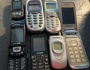Retro / Old Phone Joblot / Samsung Motorola (7)
