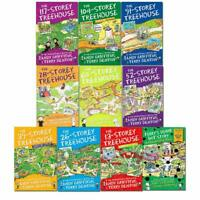 The Treehouse Series 10 Books Collection Set By Andy Griffiths NEW Pack