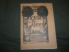 1902 MARCH THE HOUSE & GARDEN MAGAZINE - GREAT PHOTOS & ADS - ST 757
