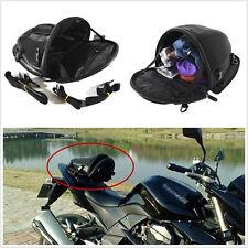 New Waterproof Motorcycle Dirt Bike Tail Back Seat Storage Hand Shoulder Bag Kit