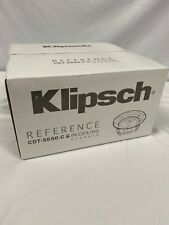 Klipsch CDT-5650-C II In-Ceiling Speaker Brand New Factory Sealed