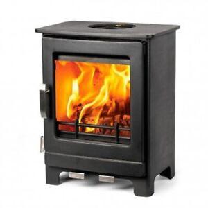 Ripley 4 kW Ecodesign Ready Multi Fuel Wood Burning Stove