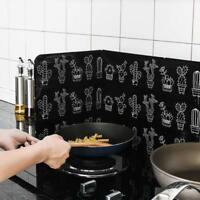 Oil Splash Scald Proof Board Kitchen Gas Stove Oil Removal Cooking Frying Guard