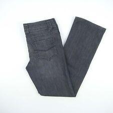 GIORDANO Straight Low Rise Stretch Denim Jeans Women's Size 26 Actual W30