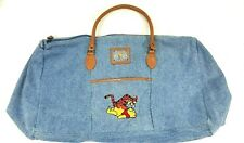 a2d9416fd Disney Winnie The Pooh Tigger Natural 100 Acre Woods Bag Tote Duffle Vintage