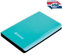 Verbatim 53171 USB 3.0 2.5-Inch 500 GB External Hard Drive - Black