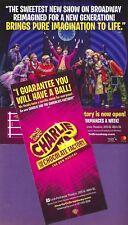 "Roald Dahl's ""CHARLIE and the CHOCOLATE FACTORY"" Christian Borle 2017 Flyer"
