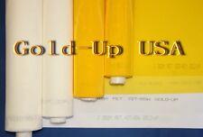 3 Yards 130 White X 63 Width Silk Screen Printing Mesh Fabric