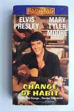 Elvis Presley & Mary Tyler Moore Change of Habit VHS Video Tape 1969